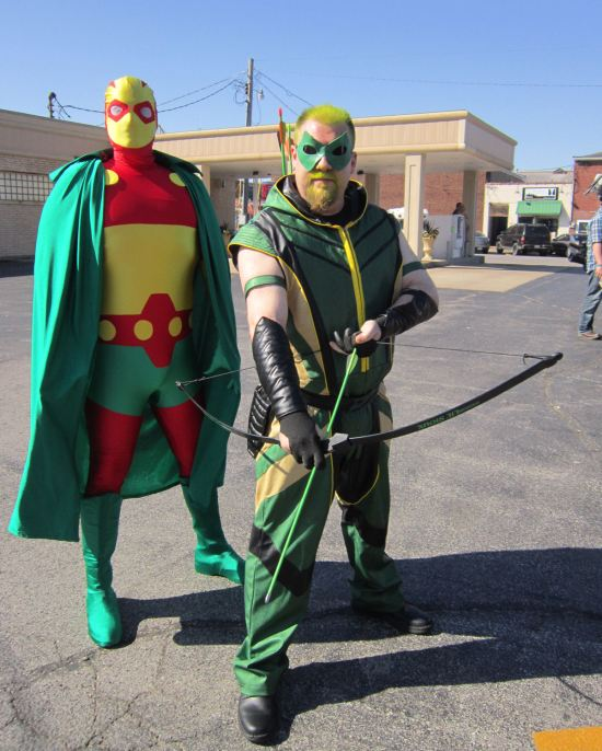 Mr. Miracle + Green Arrow!
