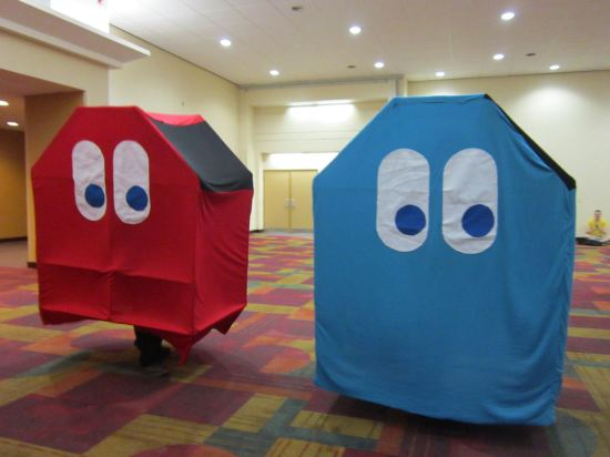 Pac-Man Ghosts!