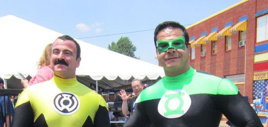 Sinestro + Green Lantern!