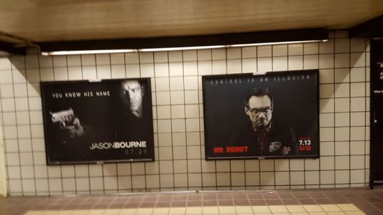 Bourne & Robot!