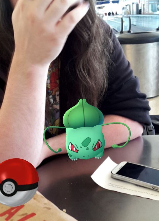 Bulbasaur! Pokemon Go!
