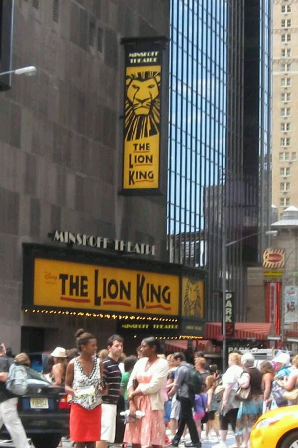 Minskoff Theatre!