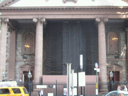 St Paul's Chapel.