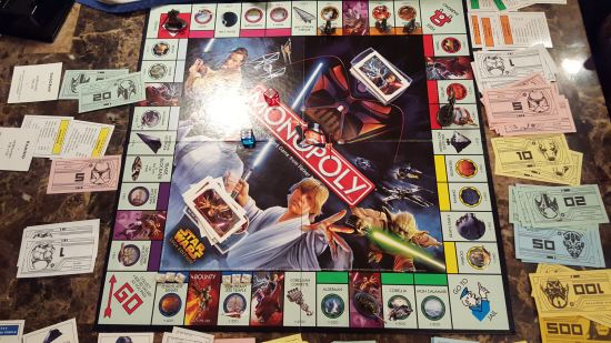 Star Wars Monopoly!