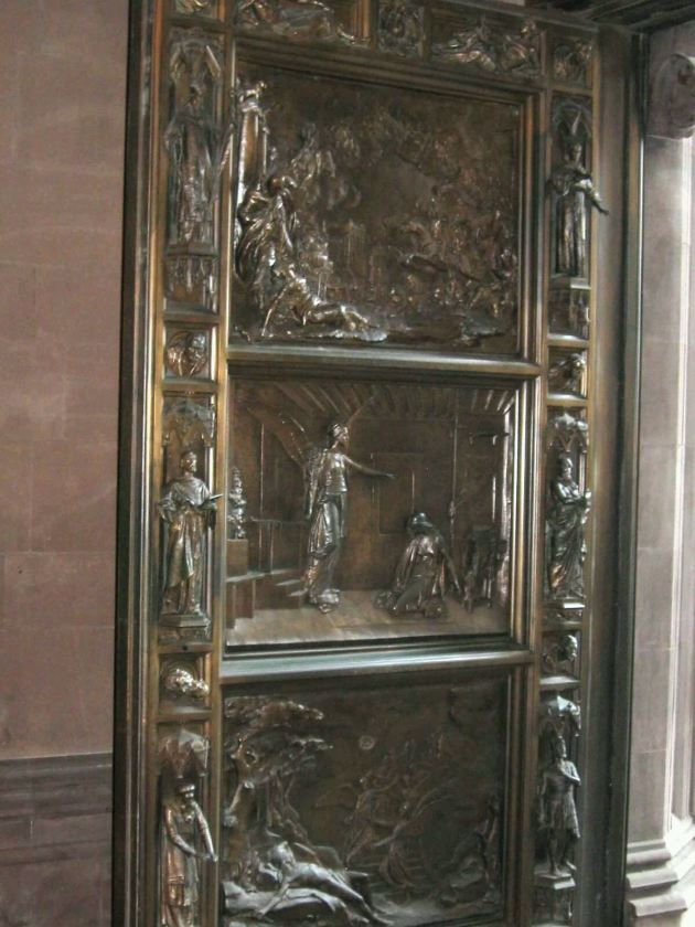 Trinity Church Door!