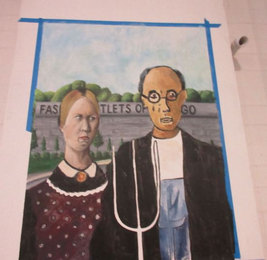 American Gothic Rose-Colored!