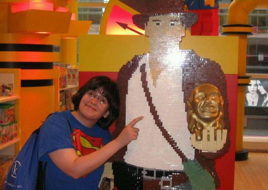 Anne + Lego Harrison Ford!