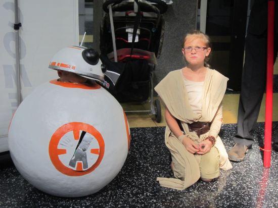 BB-8 + Rey!