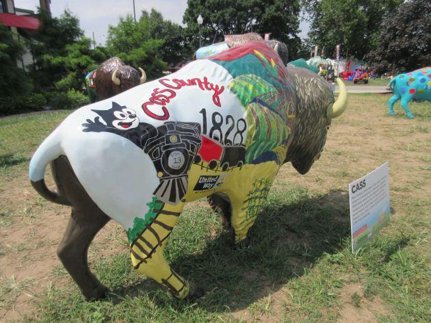 Felix the Cat bison!