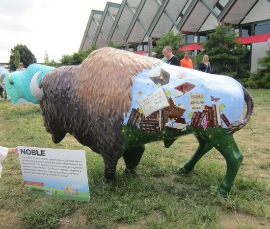 Library Bison!