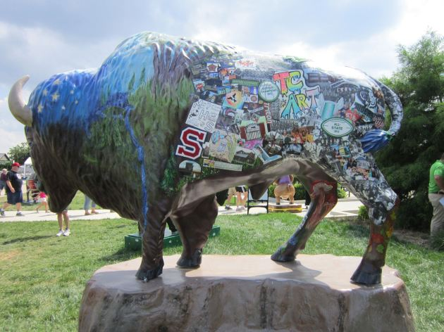Yearbook Bison!