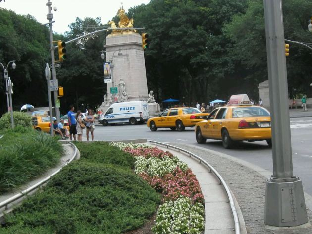 Columbus Circle Roundabout!