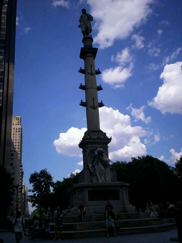 Columbus Statue!