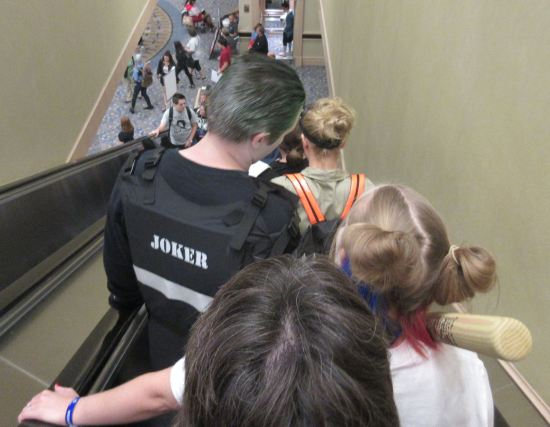 Cosplay Escalator!