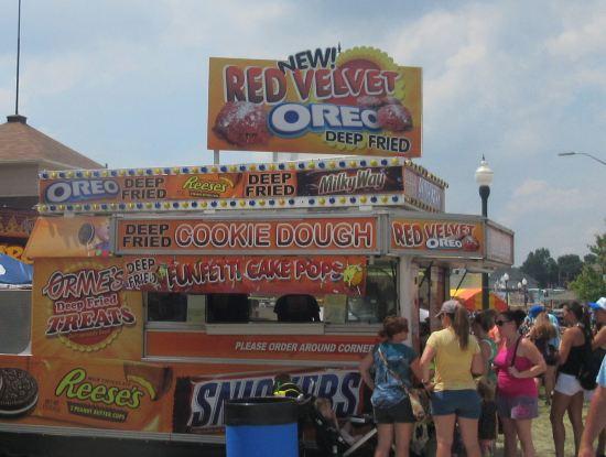 Deep-fried stand!