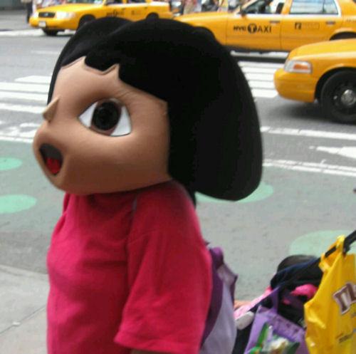 Dora the Explorer!