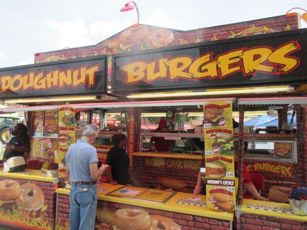 Doughnut Burgers!