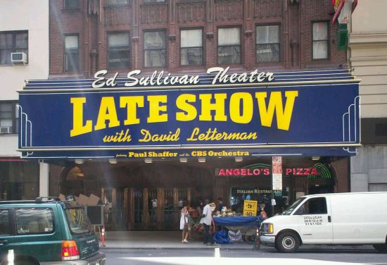 Ed Sullivan Theater!