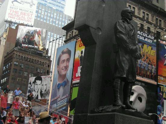 Francis P Duffy Statue!