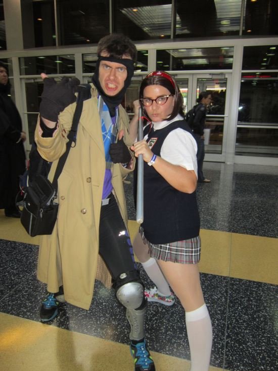 Gambit + Mary Katherine Gallagher!