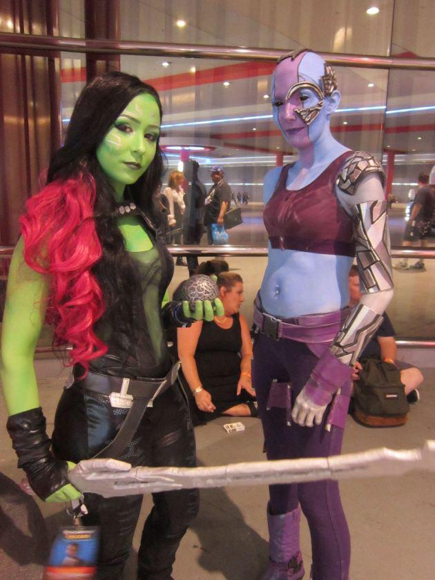 Gamora + Nebula!
