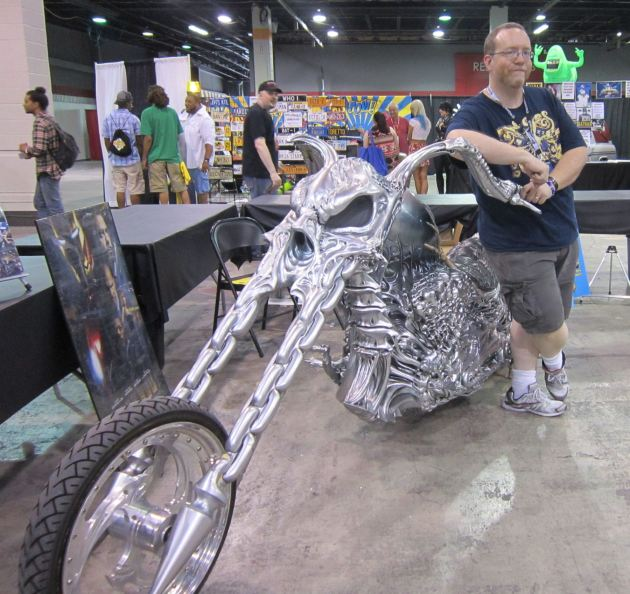 Ghost Rider cycle!