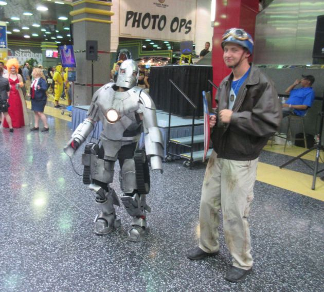 Iron Man + Steve Rogers!