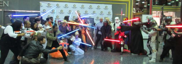 Jedi vs. Sith!