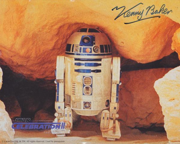 Kenny Baker Autograph!