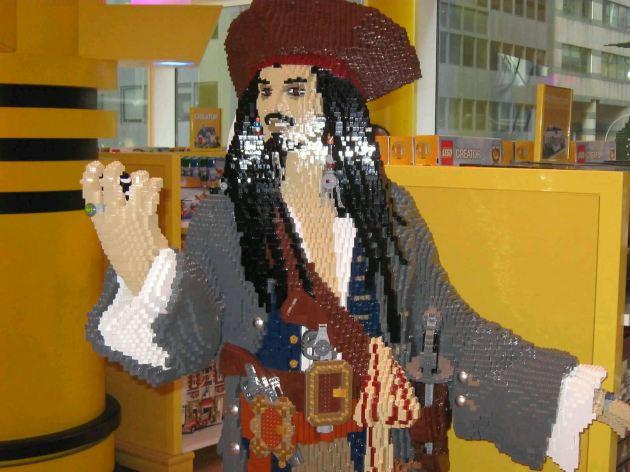 Lego Jack Sparrow!
