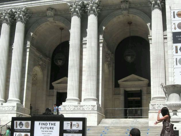 New York Public Library!