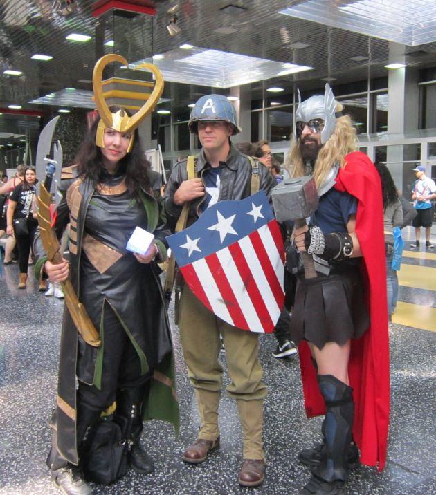 Loki Cap + Thor!