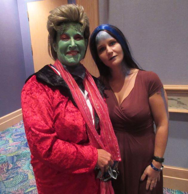 Lorne + Illyria!