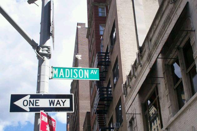 Madison Ave!