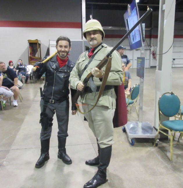 Negan + Hunter!