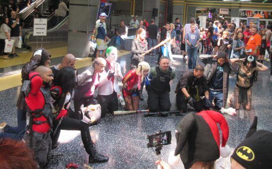 Negan v. Suicide Squad!