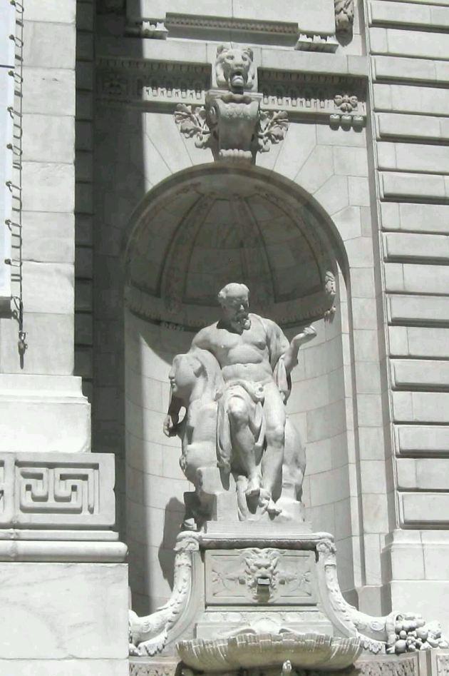 God sculpture!