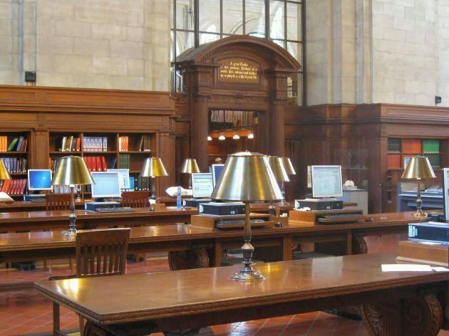 New York City Public Library Reading Room!