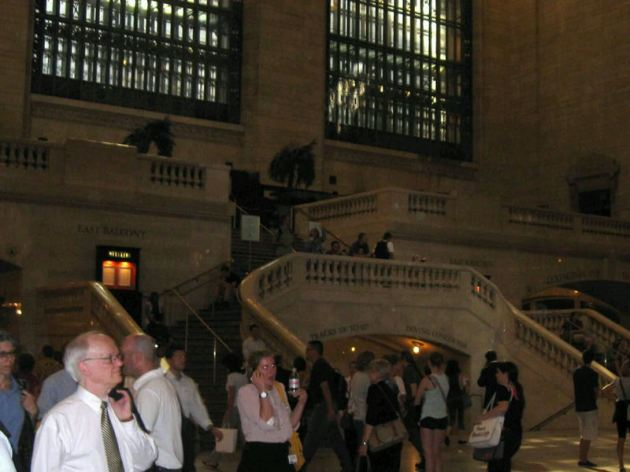 Grand Central Stairs!