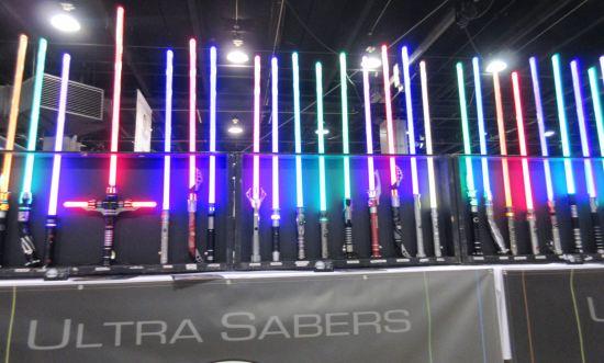 Ultra Sabers!