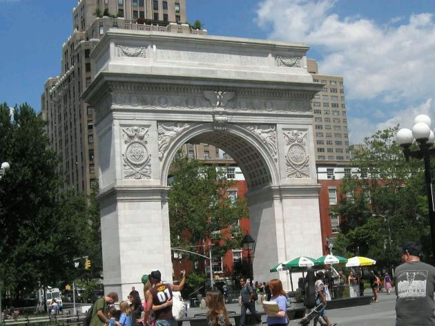 Washington Square Arch!