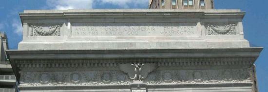 Washington Square Arch!
