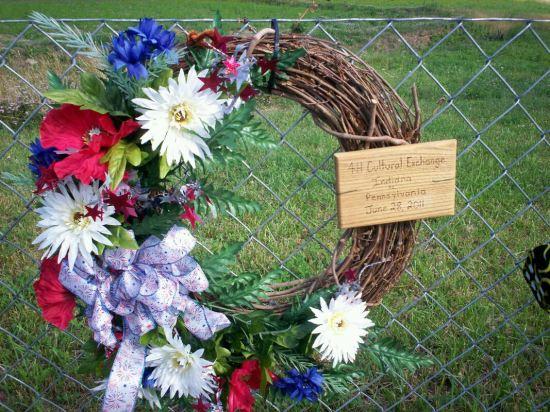 4-H 9/11 Wreath.