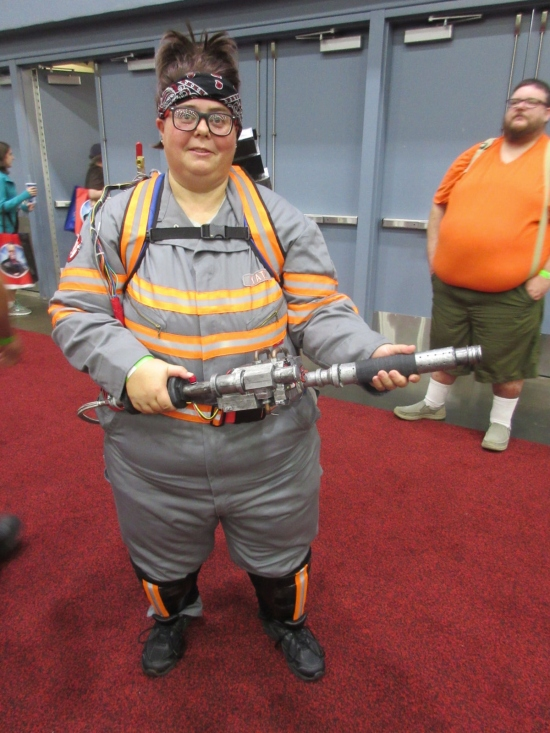 Abby Ghostbuster!