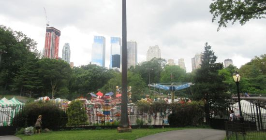 Central Park Rides!
