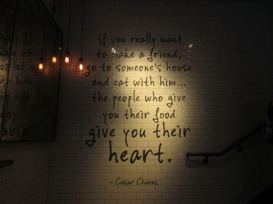 Cesar Chavez Quote!