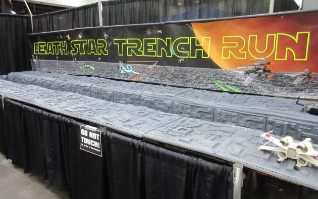 Death Star Trench Run!