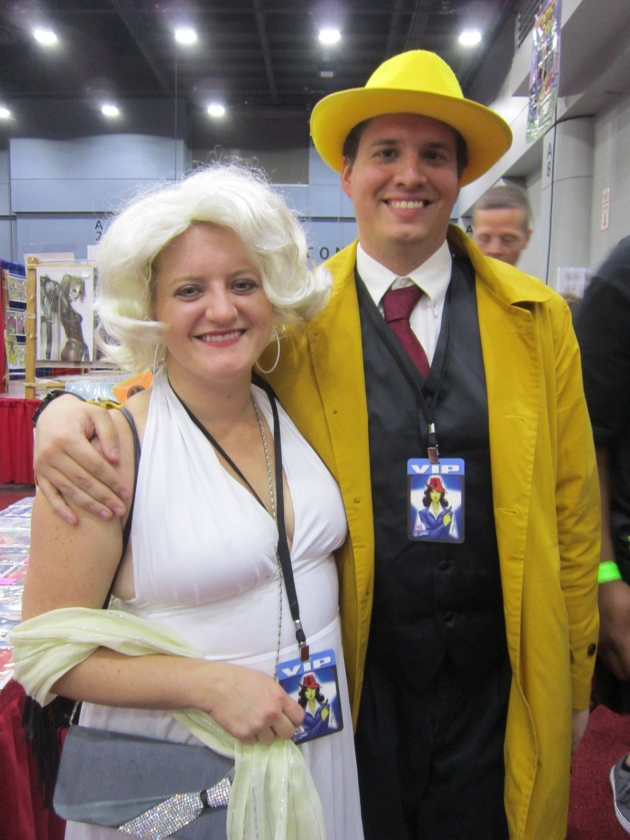 Dick Tracy and Breathless Mahoney!