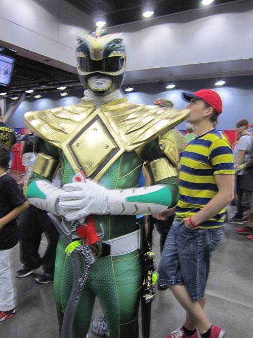 Green Power Ranger!