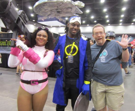 Gwenpool and Static Shock!